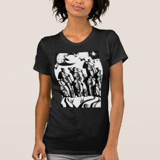 Abstract design art shirts