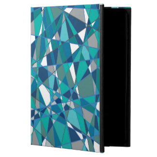 Abstract Design Blue And White Stained Glass Powis iPad Air 2 Case