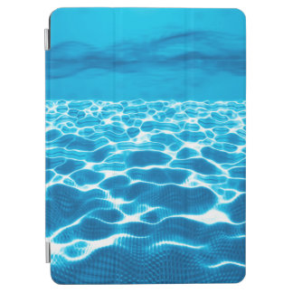 Abstract Design Blue Background iPad Air Cover