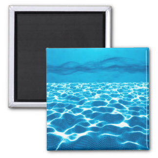 Abstract Design Blue Background Magnet