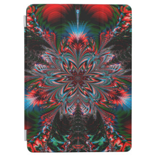 Abstract Design Blue Red And Green Bacground iPad Air Cover