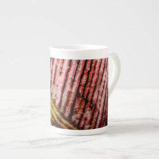 Abstract design bone china mug