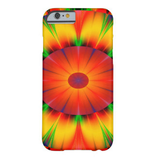 Abstract Design Bright Concentric Circles Barely There iPhone 6 Case