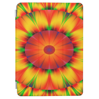 Abstract Design Bright Concentric Circles iPad Air Cover