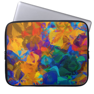 Abstract Design Bright Laptop Sleeve
