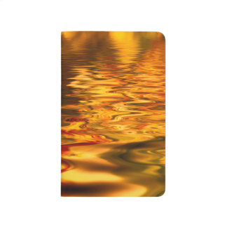 Abstract Design Bright Water Surface Journal