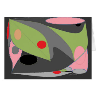 Abstract Design Greeting Card