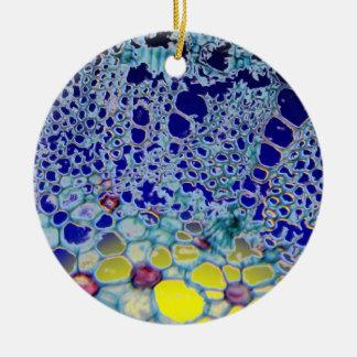 abstract design christmas ornament