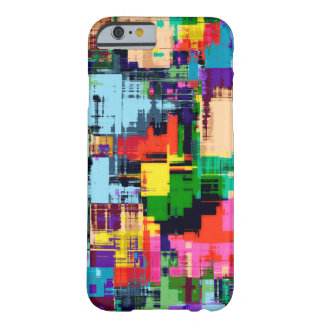 Abstract Design Color Pattern Barely There iPhone 6 Case