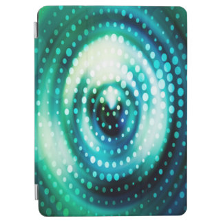 Abstract Design Color Whirl Background iPad Air Cover