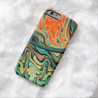 abstract design colorful fractal barely there iPhone 6 case