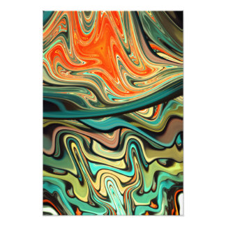abstract design colorful fractal photo print
