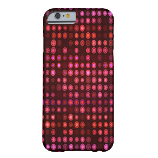 Abstract Design Geometric Purple And Lilac Circles Barely There iPhone 6 Case