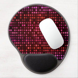 Abstract Design Geometric Purple And Lilac Circles Gel Mouse Mat