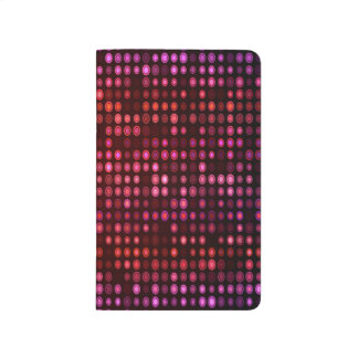 Abstract Design Geometric Purple And Lilac Circles Journal