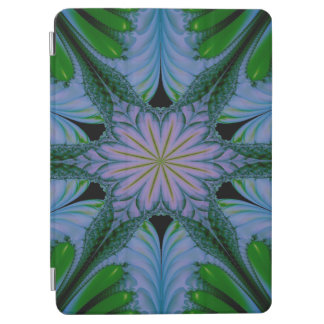 Abstract Design Green And Blue iPad Air Cover