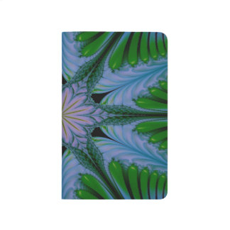 Abstract Design Green And Blue Journal