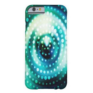 Abstract Design Green & White Concentric Circles Barely There iPhone 6 Case