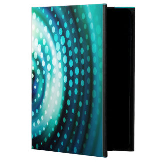 Abstract Design Green & White Concentric Circles Powis iPad Air 2 Case