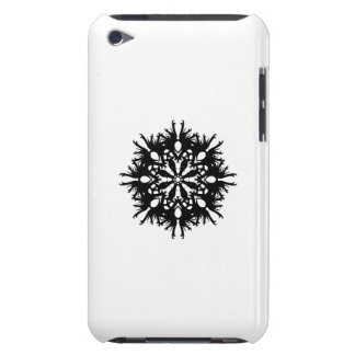 Abstract Design in Black iPod Case-Mate Case