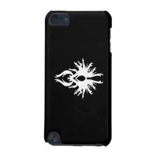 Abstract Design in White. iPod Touch (5th Generation) Cover