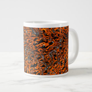 Abstract design jumbo mug