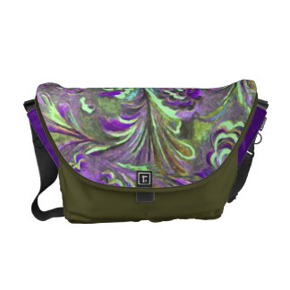 Abstract Design Commuter Bag