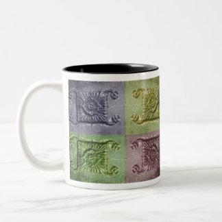 Abstract design photo coffee mugs