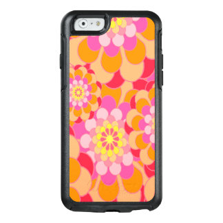 Abstract Design Pink Floral OtterBox iPhone 6/6s Case