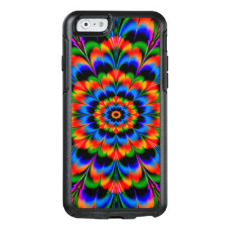 Abstract Design Radiating Color Wheel OtterBox iPhone 6/6s Case