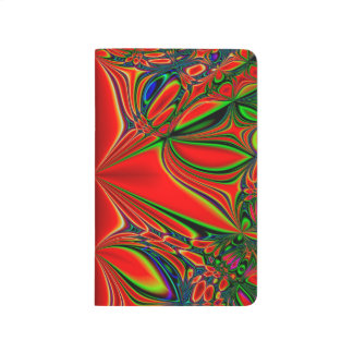Abstract Design Red And Green Journal