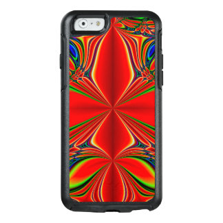 Abstract Design Red And Green OtterBox iPhone 6/6s Case