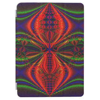 Abstract Design Red Green And Blue Design iPad Air Cover