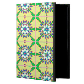 Abstract Design Seamless Green, Yellow And White