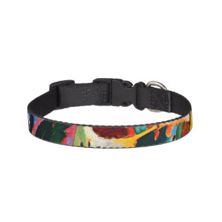 Abstract design Small Pet Collar
