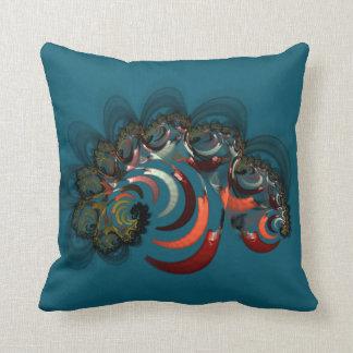 abstract design spirals cushion