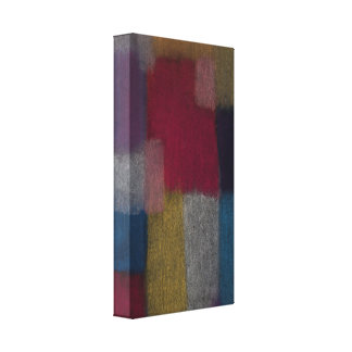 Abstract Design Stretched Canvas Print