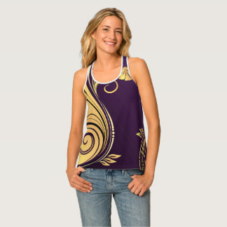 Abstract Design Tank Top
