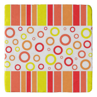Abstract design trivets