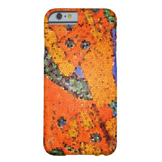Abstract design- using a mayan painting barely there iPhone 6 case