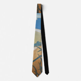 abstract design with outlined colors quirky tie