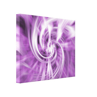 Abstract Design Wrapped Canvas Print