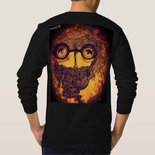 Abstract Designer Long Sleeve T-Shirt