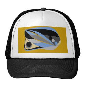 Abstract designs cap