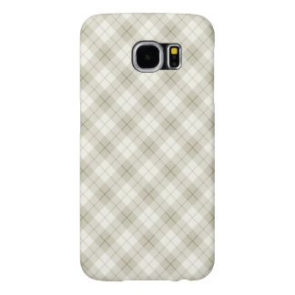 Abstract Diagonal Scottish Plaid Samsung Galaxy S6 Cases