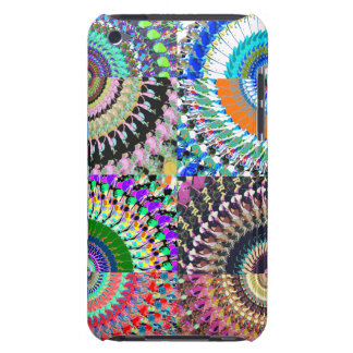 Abstract Digital Art Collage Barely There iPod Case