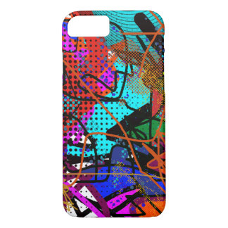 abstract digital art iPhone 7 case