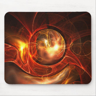 Abstract digital design mousepad