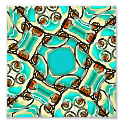 Abstract Digital Ornament Art Photo