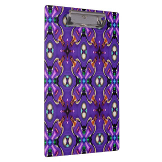 Abstract Disco Beads Clipboard